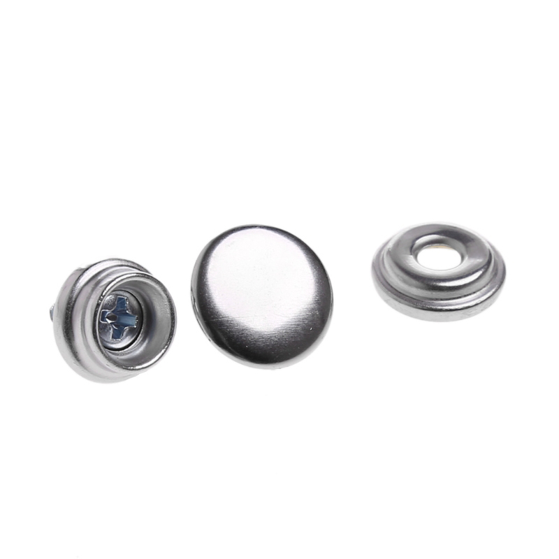 Image 4 - 62x 10mm Snap Fastener Stainless Steel Canvas Screw Press Stud Boat Cover Kit-in Marine Hardware from Automobiles & Motorcycles