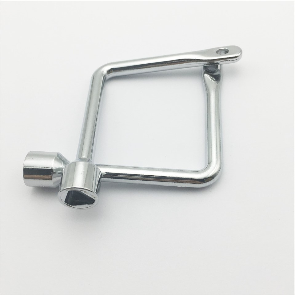 1pcs Delta Switch Key Wrench With Accessories Universal Triangle Train Electrical Cupboard Box Elevator Cabinet Alloy