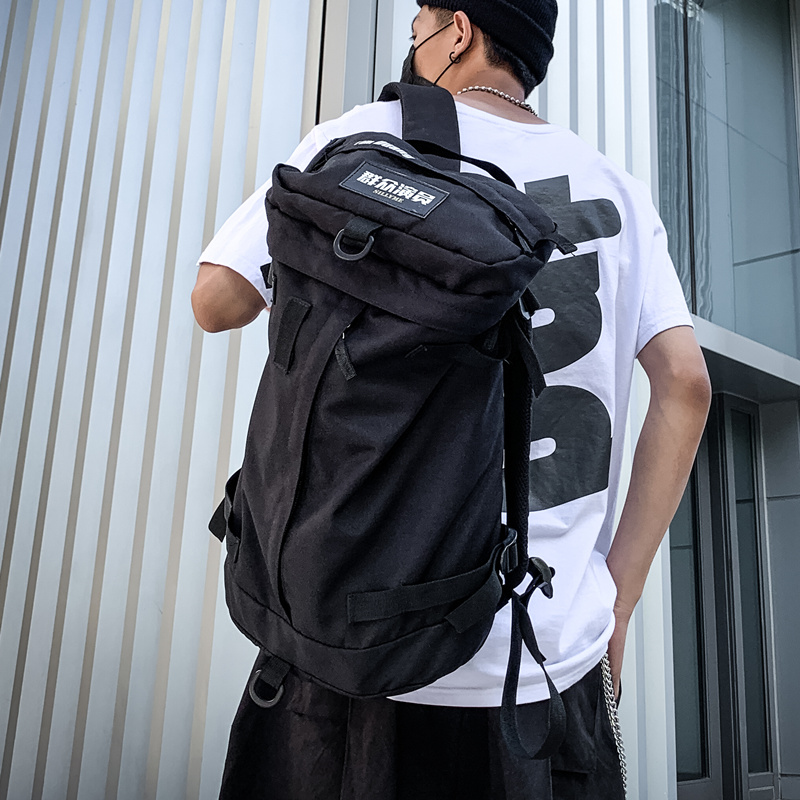 Men Women Backpack Large Capacity Student Travel Bag Backpack Male Street Trend Multifunction Male Outdoor Luggage Bag Mochilas