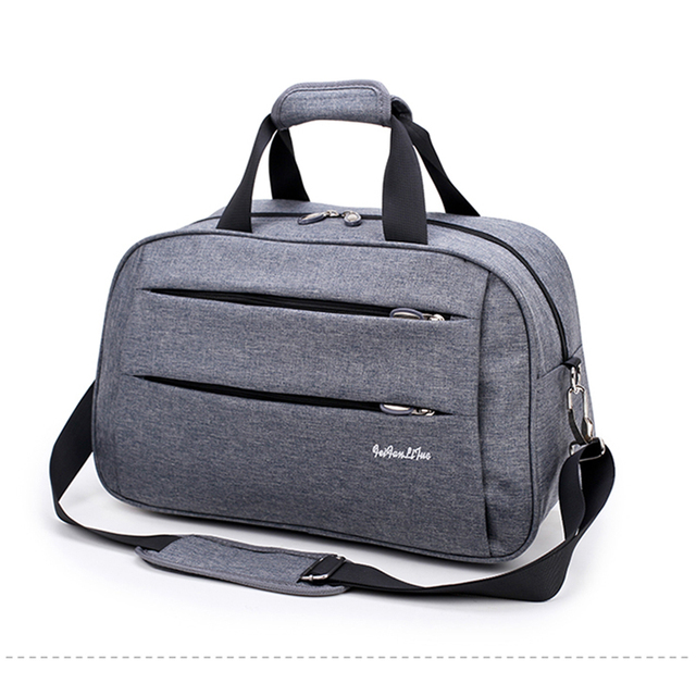 fd4bbd1c4a High Quality Nylon Casual Male Travel Bag Men s Shoulder Bag Travel Totes  Large Capacity Unisex Fashion Duffle Bag Packing Cubes