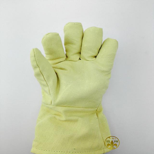 GlovesYBBB luvas resistentes a alta temperatura de 500 graus de calor à prova de fogo de isolamento, anti-queimadura corte de luva de segurança
