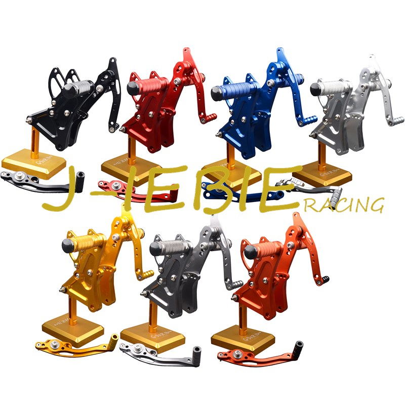 CNC Racing Rearset Adjustable Rear Sets Foot pegs Fit For Buell XB9 XB12 XB9R XB12R S фиксатор колен titan deutschland gmbh только для tom 5 streeter р080