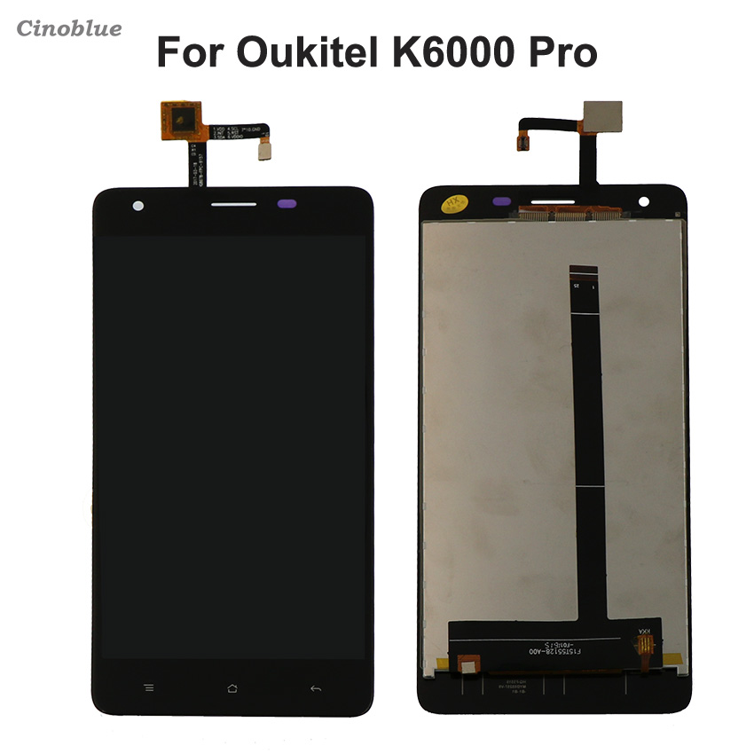 For Oukitel K6000 Pro LCD Display Touch Screen Mobile Phone Parts For Oukitel k 6000 Pro Screen LCD with Tools