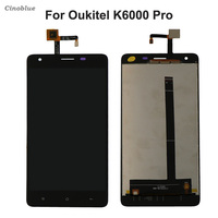 For Oukitel K6000 Pro LCD Display Touch Screen Mobile Phone Parts For Oukitel K 6000 Pro