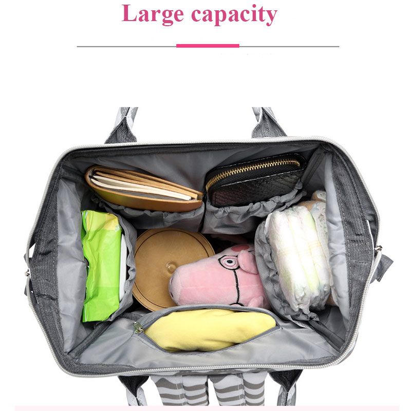 LEqueen Maternity Nappy Bag Brand Mummy bag Large Capacity Baby Bag Nursing Bag for Baby Care