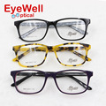 A maioria dos popular unisex pure acetato óculos novos chegada da alta qualidade da moda frame ótico para homens e mulheres venda quente H825