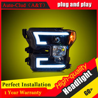 Auto Clud Car Styling For Ford Raptor F150 Headlights For Raptor Head Lamp Led DRL Front