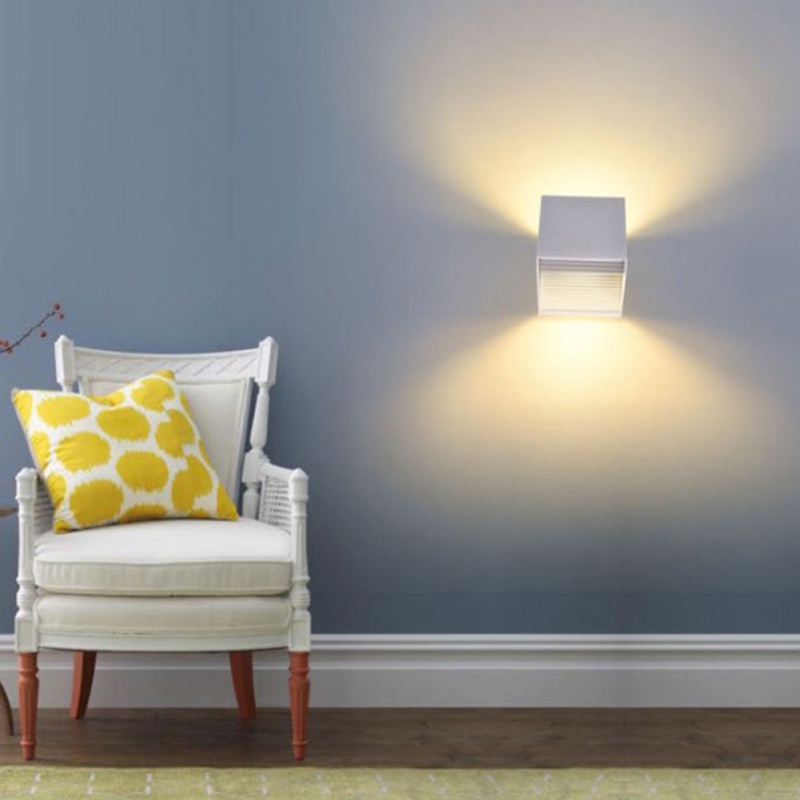Led Wall Lamp Modern Sconce Stair Light Fixture Bedroom