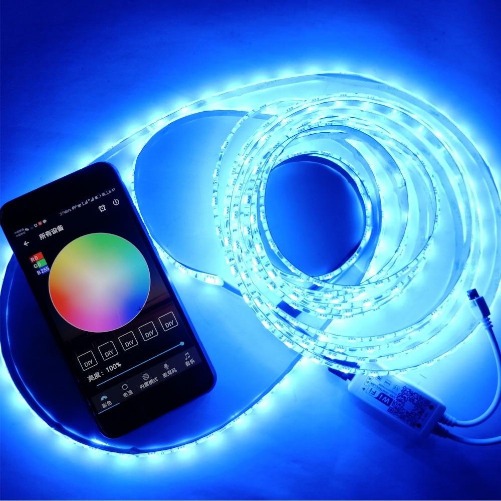 eua ue reino unido au wi fi inteligente lampada led com 5 m 300 lampadas 5050