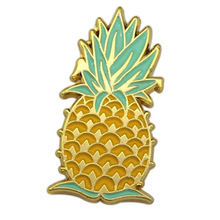 Hot Plated Gold Badge New Style Pineapple Shape Metal Badges