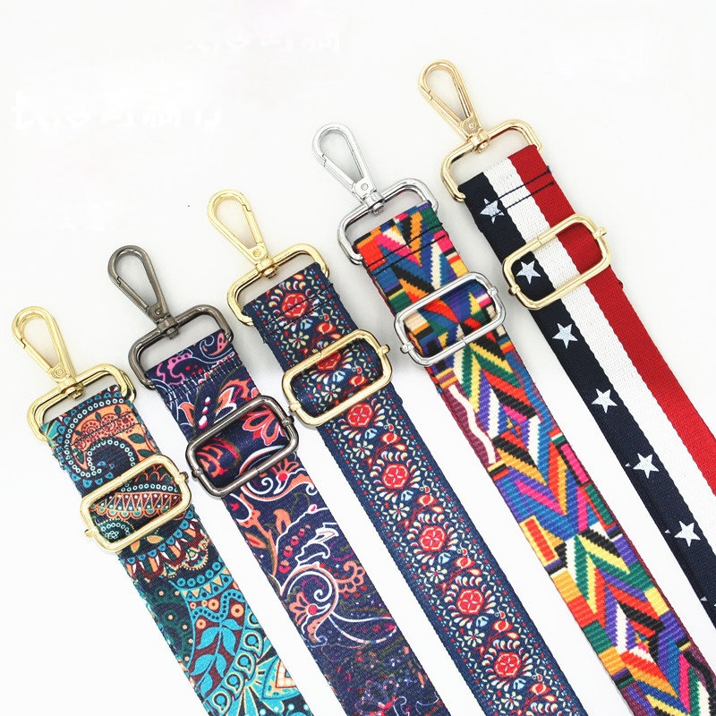Nylon Braid Strap Adjustable Bag Handles For Handbags Strap Shoulder Handbags Crossbody Messenger Bag Strap Accessory KZ151353