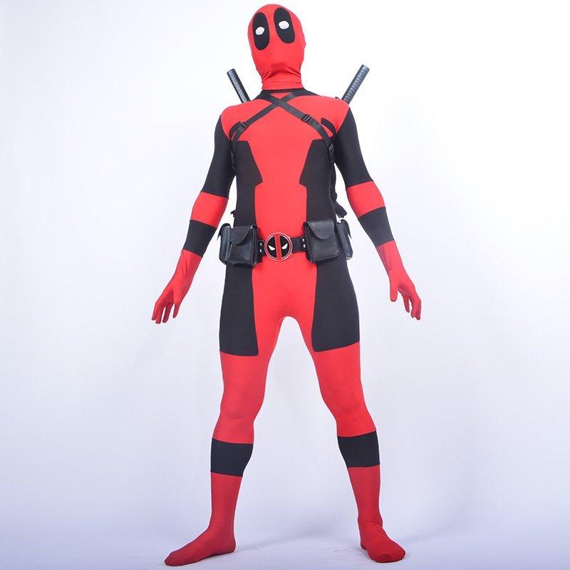 Cool KIds Deadpool κοστούμι κόκκινο πλήρες - Καρναβάλι κοστούμια - Φωτογραφία 3