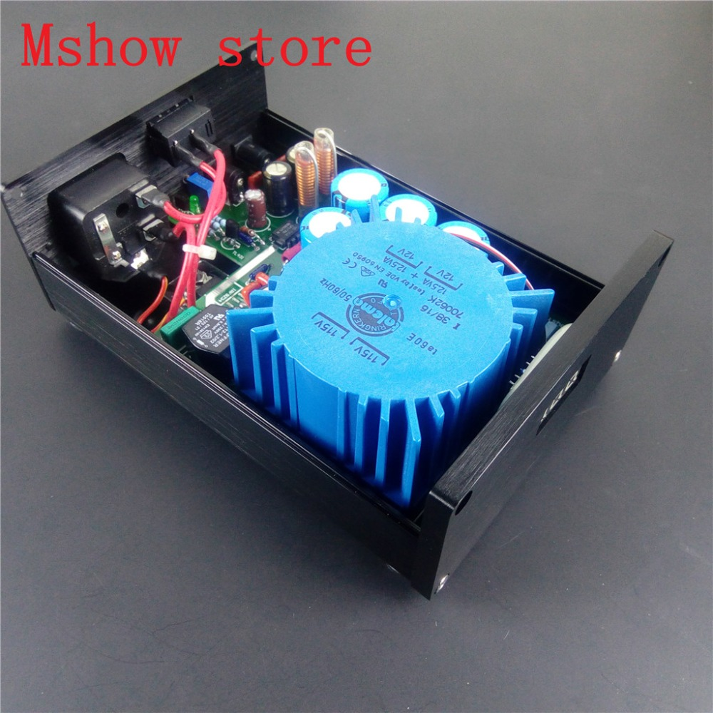 25VA talema Ultra Low Noise linear power supply LPS output DC 15V upgrade for TOPPING DX3
