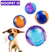 HOOPET Haustier Hund Welpen Quietschende Kauen Spielzeug Sound Reine Natürliche ungiftig Gummi Im Freien Spielen Kleine Große Hund Lustige ball