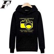 Harajuku Hip Hop Funny Camera with Letter Sweatshirt Men/Women Winter Hoodies and Sweatshirt streetwear hoodie Clothing недорого