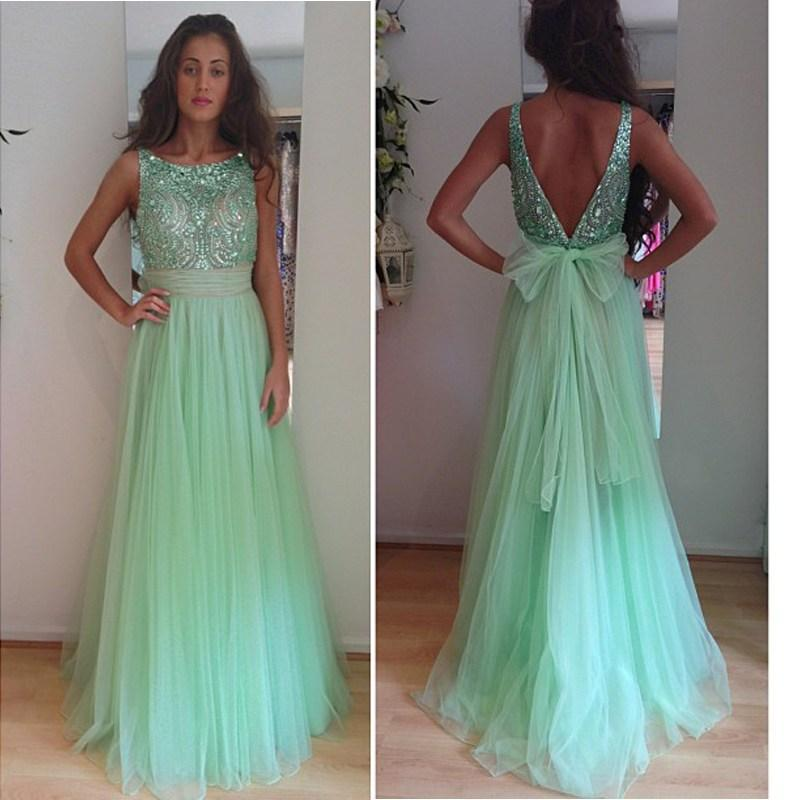 Elegant Mint Dresses