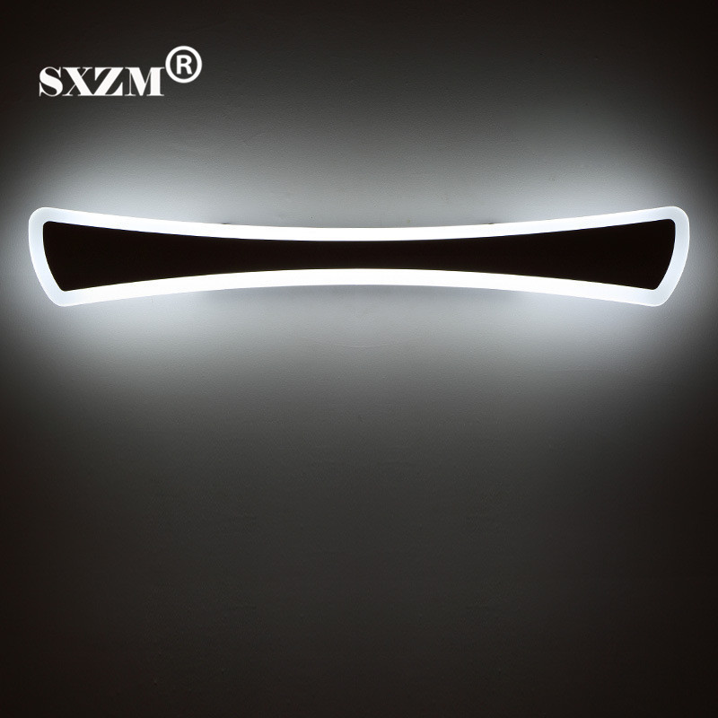 SXZM 14W 15W waterproof led mirror light 42cm 55cm Acrylic led lighting for bathroom with led driver AC85-265V free shipping free shipping high quality 30w cree cob chip led down light embedded led trunk lamps lighting with led driver ac85 265v