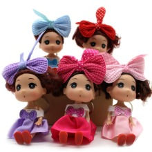 Subcluster 5 Pcs/Set Fashion Mini 12cm Kawaii Doll for ddung Girl With Beautiful Dress Wedding