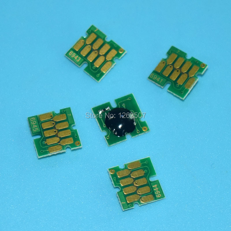 T3000 ARC chip For Epson Sure Color T3000 T5000 T7000 Permanent chip For Epson T6941-T6945