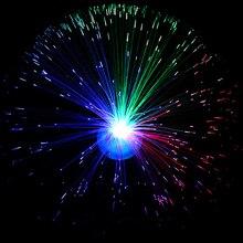 Новогодняя Мерцающая волоконно-оптическая батарея, светодиодный светильник-полоска, ночная лампа, Рождественская, свадебная, домашняя Декорация