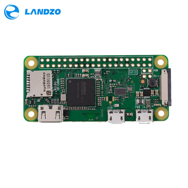 Latest Raspberry Pi Zero W Wireless Pi 0 with WIFI and Bluetooth 1GHz CPU 512MB RAM Linux OS 1080P HD video output free shipping