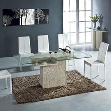 Smart Dining Table Set High Quality Natural Stone Marble Furniture Rectangle Health Living Room Fruniture