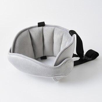 цена на New Infant Baby Toddler Head Support for Car Seat Belt Band Car Seat Straps Cover Children Slumber Sling Safety Sleep Holder