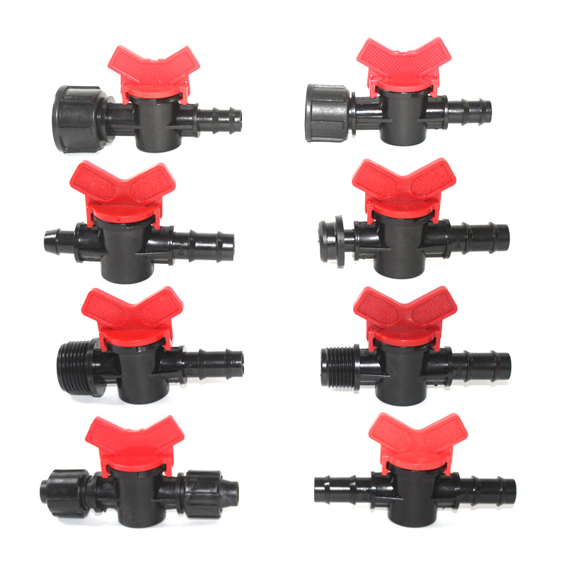 Nuonuowell 16mm Pipe Joiner Plastic Barbed Connector