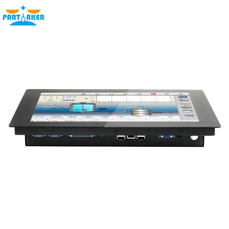 Partaker Z14 I7 4510U Processor Panel PC With Made In China 5 Wire Resistive Touch Screen 2G RAM 32G SSD