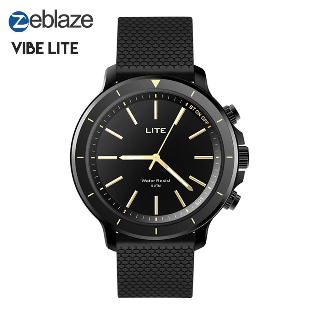 Zeblaze VIBE LITE montre intelligente étanche 5 ATM extérieur Smartwatch Bluetooth Sport Fitness Trackers bracelet sommeil moniteur 9