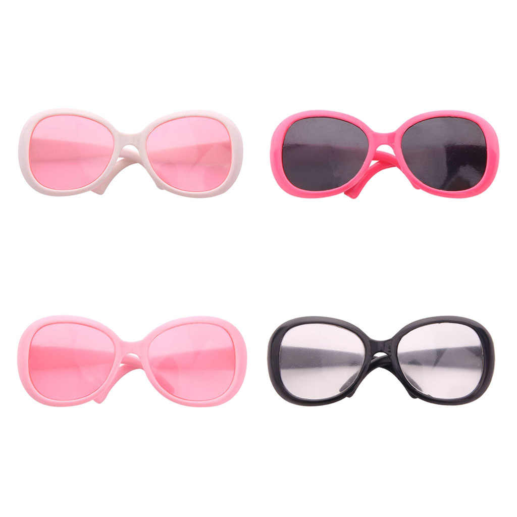 Trendy Plastic Sunglasses For 18inch Dolls for Girl Doll Accessory Doll Eyeglasses Toys