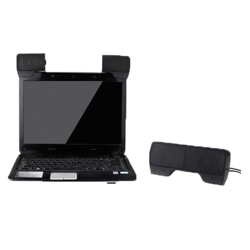 Портативный Клип на USB питание 3,5 мм разъем стерео колонки аудио колонки поддержка регулировки громкости для ноутбук ПК настольный компьютер планшет