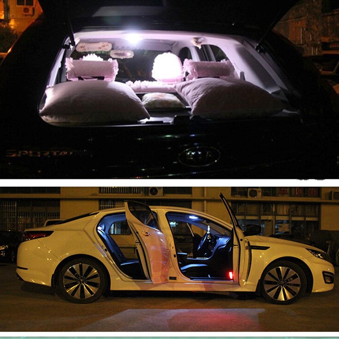 7pcs Car LED  light kit package for KIA Sorento 2002-2008 Dome Rear Trunk License plate lights shanghai chun shu chunz chun leveled kp1000a 1600v convex plate scr thyristors package mail