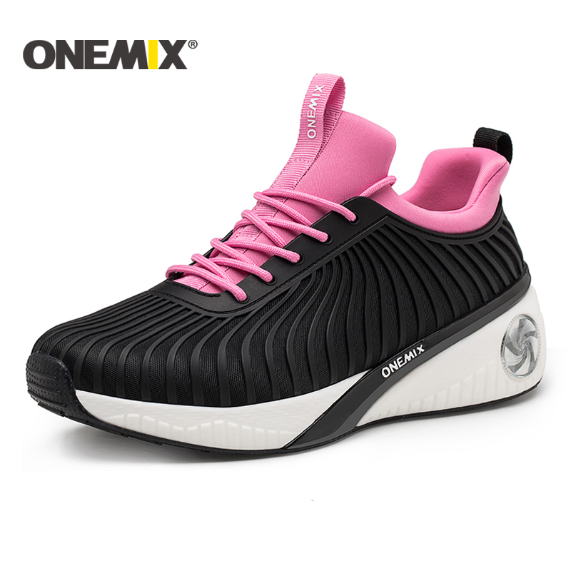Onemix New Height Increasing Shoes Women Running Shoes Sport Sneakers For Women Outdoor Walking Shoes Light Jogging Sneakers