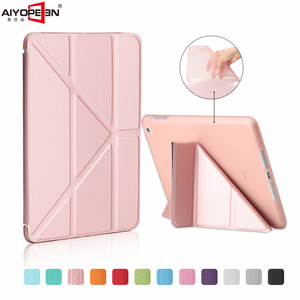 For Ipad Air 2 Smart Case mutli Shapes Ultra Thin PU Leather Cover tpu Soft Case For ipad mini 1/2/3 Auto Wake up/Sleep for apple ipad air 2 case pu tpu cover ultra thin smart wake up sleep 9 7 inch for ipad 6 soft full protect stand case stylus
