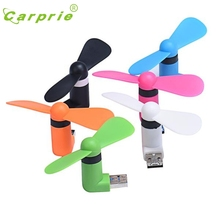 CARPRIE USB Cooler Portable Super Mute Mini 43x30x89mm 5V Cooling Fan For Android Phone PC Mar30 MotherLander