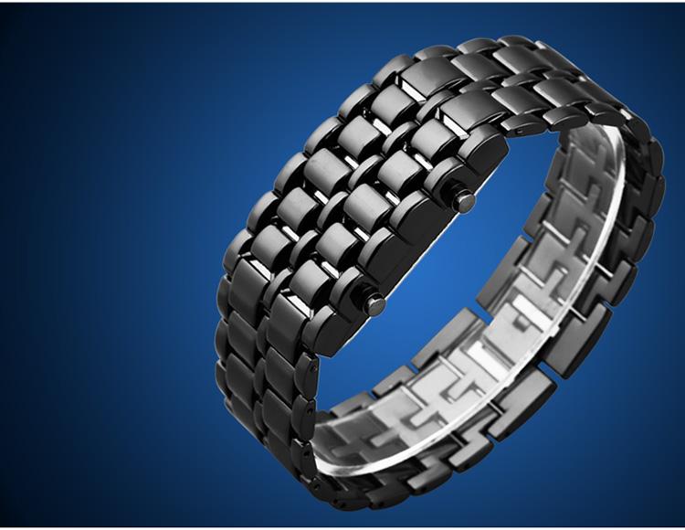 Aidis youth sports watches waterproof electronic second generation binary LED digital men's watch alloy wrist strap watch 34
