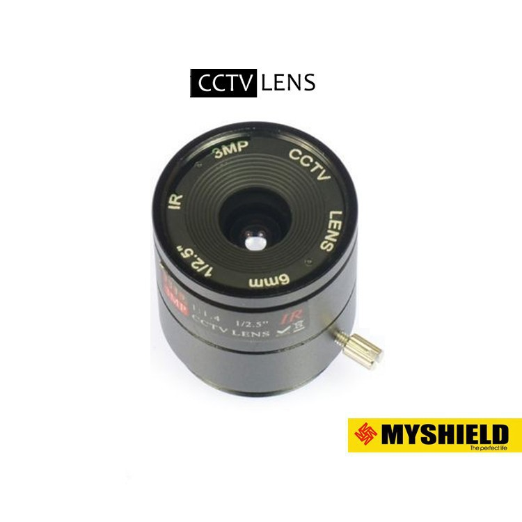 "1//2.5/""  F1.4  4mm 3MP CS Len Wide Angle HD Lens For CCTV IP Camera Lens"