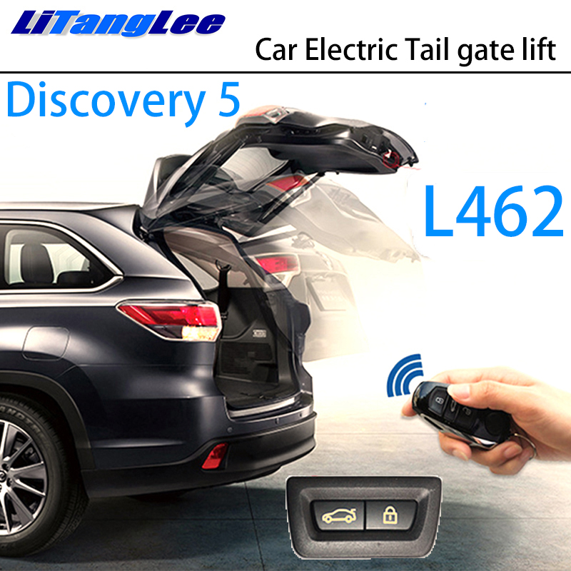 LiTangLee Car Electric Tail Gate Lift Trunk Rear Door Assist System For Land Rover Discovery 5 LR5 L462 2017~2019 Remote Control