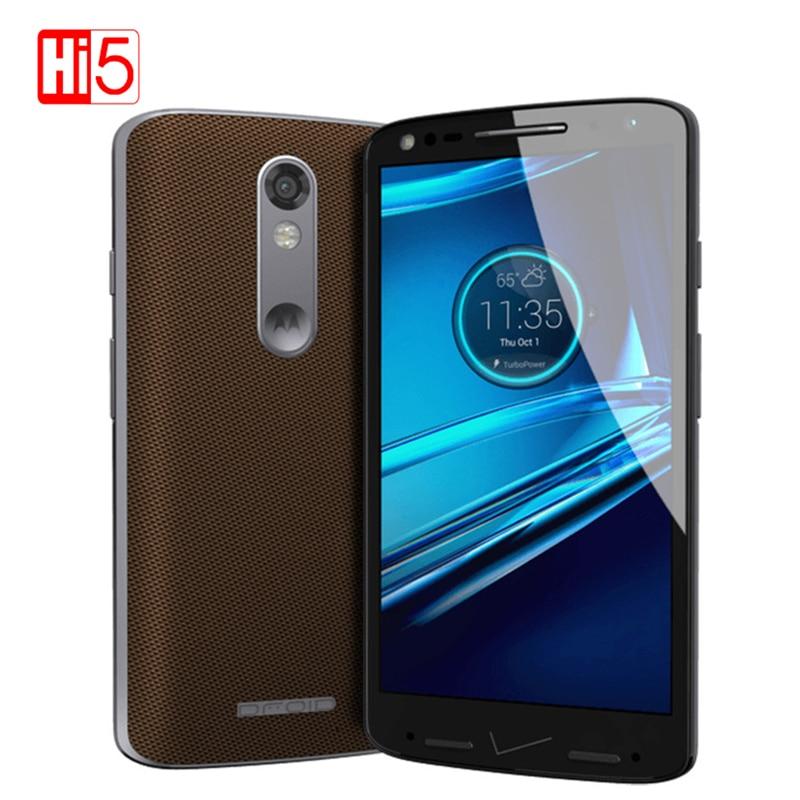 Motorola DROID turbo 2 XT1585 3 GB RAM 32 GB ROM 4G LTE Mobile Téléphone 21MP 2560x1440 5.4 64bit Snapdragon810 Moto DROID turbo