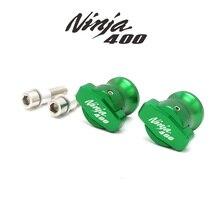 Motorcycle Accessories 400 Spools Slider Swingarm Stand Screws For Kawasaki NINJA400 NINJA CNC Aluminum 8MM 2018-2019