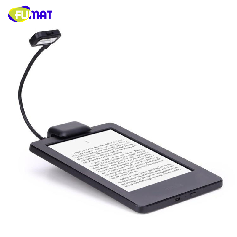 FUMAT LED Book Lights 3pcs LED E-reader Clip With Flexible Read Light Lamp For Ebook Ereader Kindle For Pocketbook Reading Lamp(China)