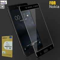 Imak Amazing Anti Explosion 2.5D Screen Protector For Nokia 5 6 7 7Plus 8 Full Cover Tempered Glass Protective Film oleophobic|screen protector|glass glass|tempered glass screen protector -