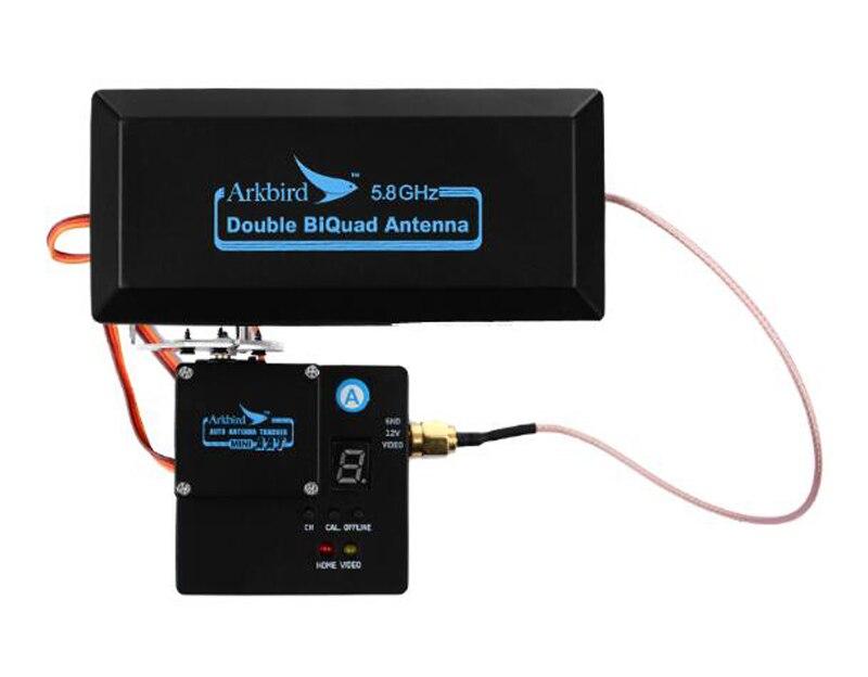 Traqueur d'antenne 5.8G Mini amplificateur de gamme de Signal AAT récepteur 40CH pour émetteur fixe Multicopter FPV Drone RC