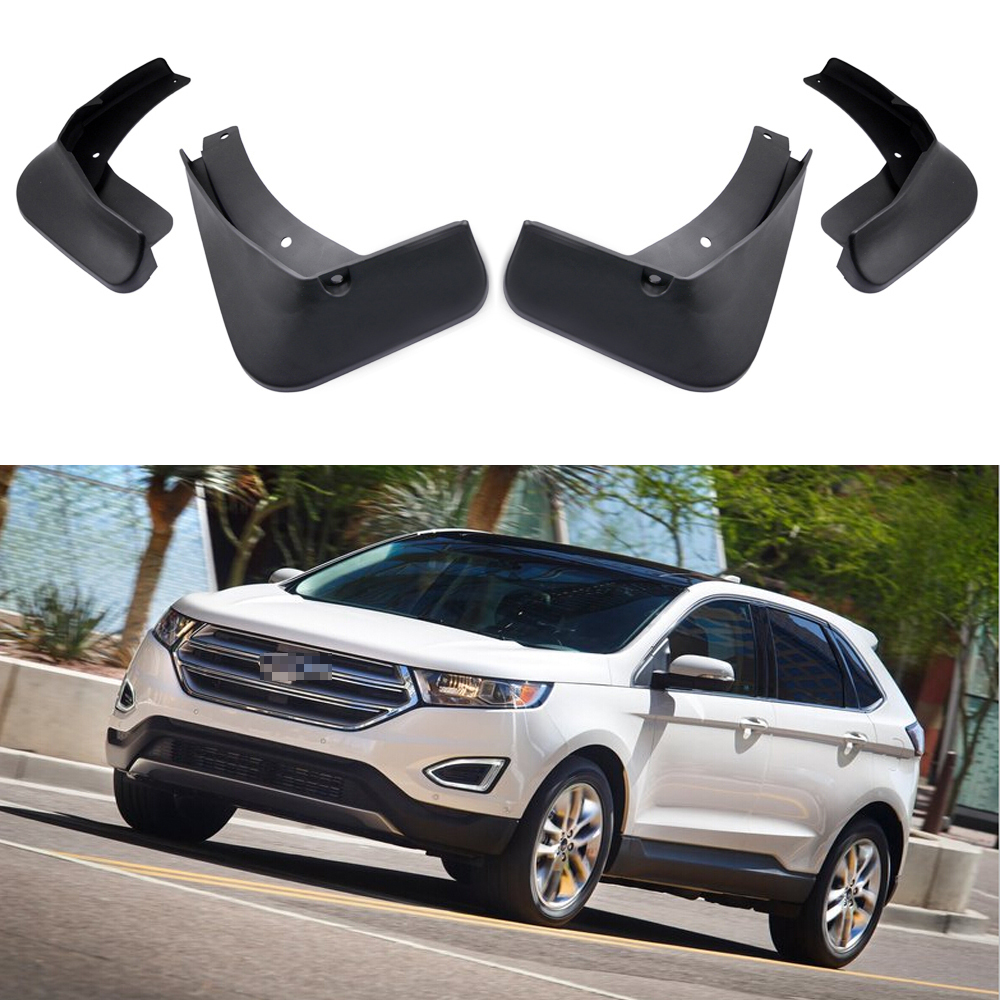 Set Car Fender Mudguard Mud Guards Splasher For Ford Edge Ecoboost  In Mudguards From Automobiles Motorcycles On Aliexpress Com Alibaba Group