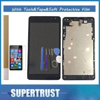 Pour Microsoft Lumia 535 N535 2C/2 S Version RM-1089 RM-1090 RM-1091 RM-1092 Avec Cadre LCD Affichage + Écran Tactile avec kit