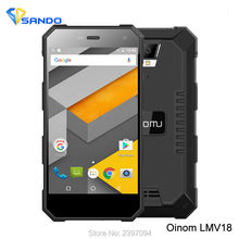 2016 Последним Oinom LMV18 V1200 Мобильного Телефона Android 5.1 MTK6752 Quad Core 1.3 ГГц 4.5 Дюймов Ip68 2 ГБ 32 ГБ ROM 4 Г Fdd_Lte 5000 МАЧ