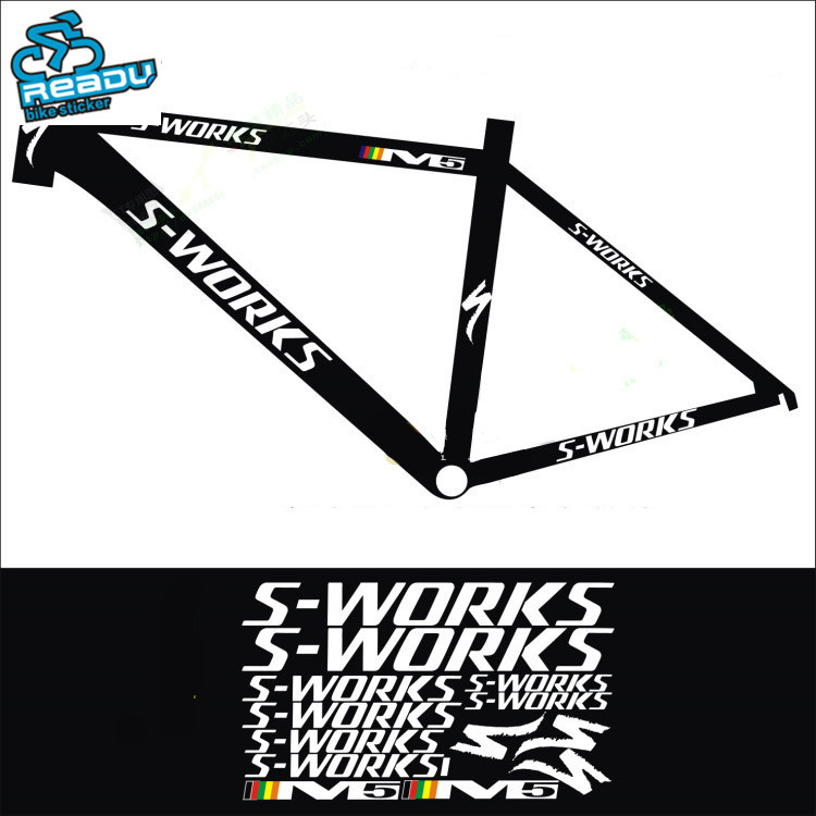 2017 mtb stickers frame decals water protector cycling bike frame reflective stickers bicycle accessorieschina