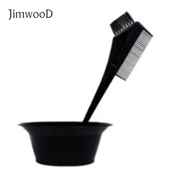 1pc DIY  Hair Dye Bowl Hairdressing Tools Multi-functional Plastic Treatment Bowl Dye Hair Color Comb  Dye