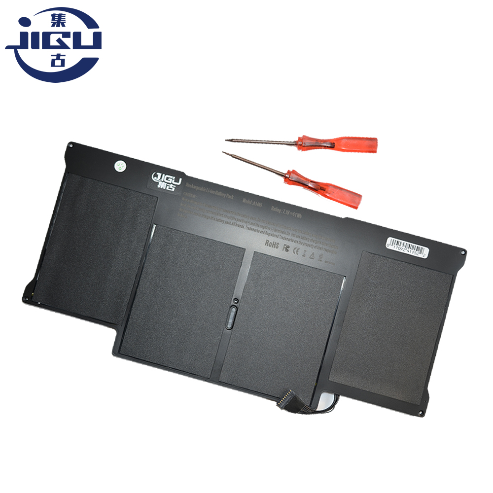 JIGU New Laptop Battery For Apple MacBook Air 13 A1466 A1369 A1405 A1496 A1377 Battery With Screwdrivers hsw rechargeable battery for apple for macbook air core i5 1 6 13 a1369 mid 2011 a1405 a1466 2012